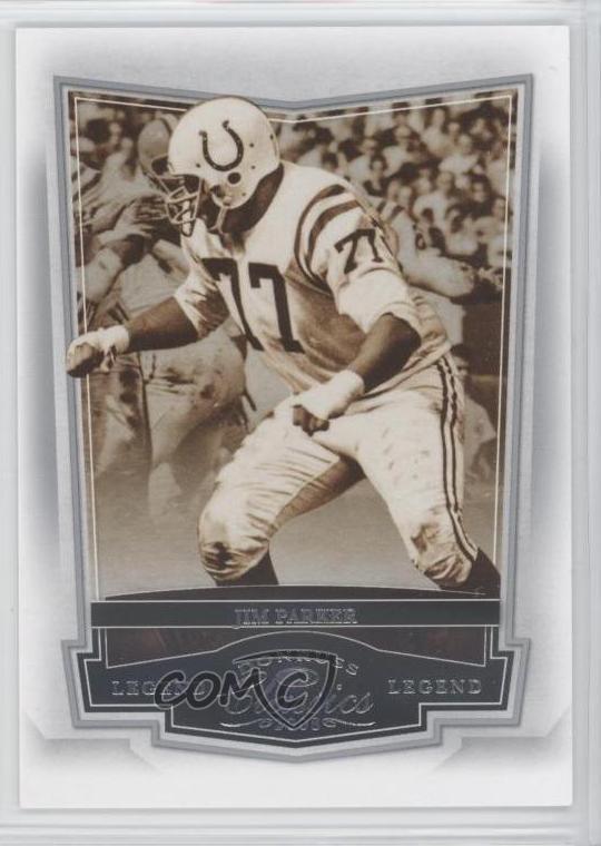 Verzamelkaarten: sport 1963 Topps #5.1 Jim Parker Baltimore Colts Football Card