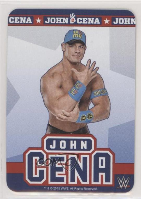 Details About 2015 Wwe Tcg John Cena Rookie Wrestling Card