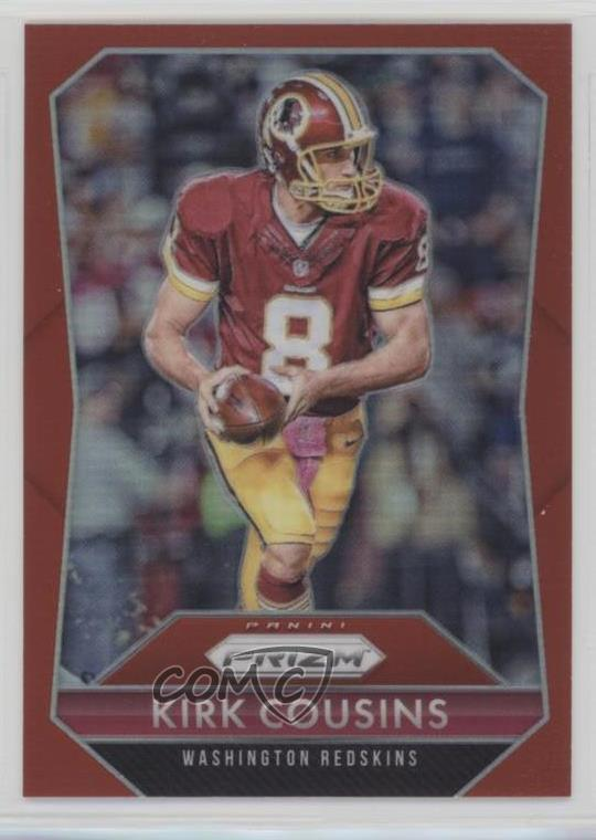 154 Kirk Cousins. Representative Image - Select Specific Item above to see  image of actual item 25da06065