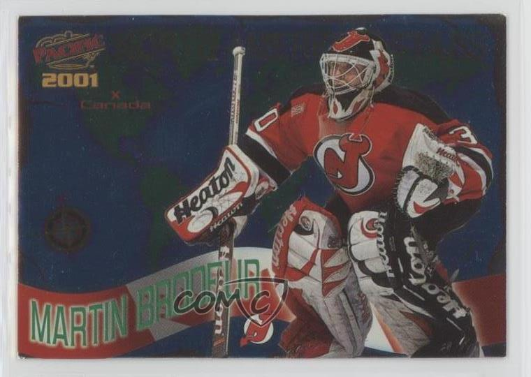 2000 Pacific North American Stars 7 Martin Brodeur New Jersey Devils