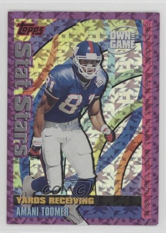 2000-Topps-Own-the-Game-OTG23-Amani-Toomer-New-York-Giants-Football-Card