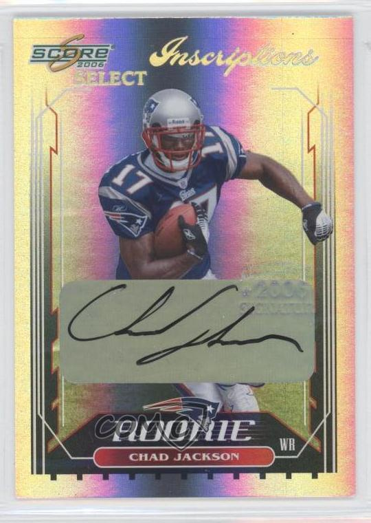 ? 2006 Score Select Football Hobby Pack RC, Auto, Jersey