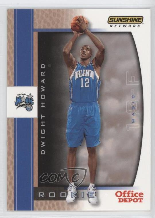 ... Depot Orlando Magic -  Base   10 Dwight Howard. Representative Image -  Select Specific Item above to see image of actual item. Front Back 77c38cff1