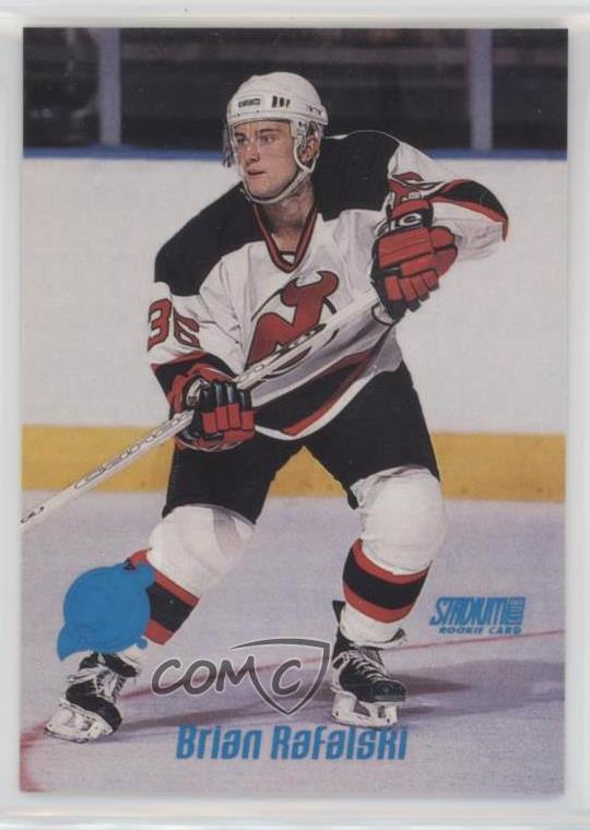 low cost d14da 8726c Details about 1999-00 Topps Stadium Club #189 Brian Rafalski New Jersey  Devils Rookie Card