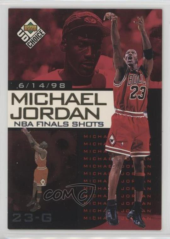 af37f11630282e ... NBA Finals Shots  10 Michael Jordan. Representative Image - Select  Specific Item above to see image of actual item