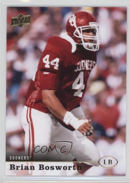 72c79991 #44 Brian Bosworth. Representative Image - Select Specific Item above to  see image of actual item