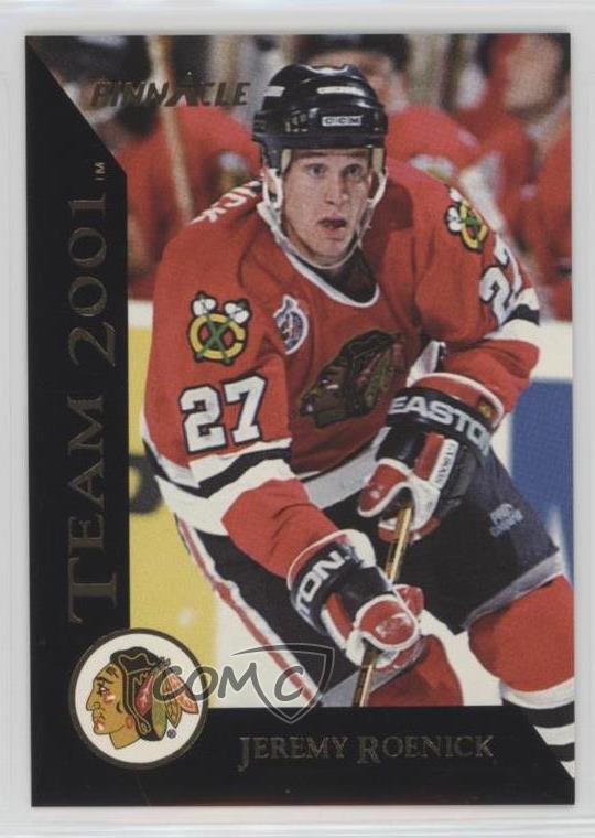 1993-94 Pinnacle - Team 2001  20 Jeremy Roenick. Representative Image -  Select Specific Item above to see image of actual item 420b2f11f