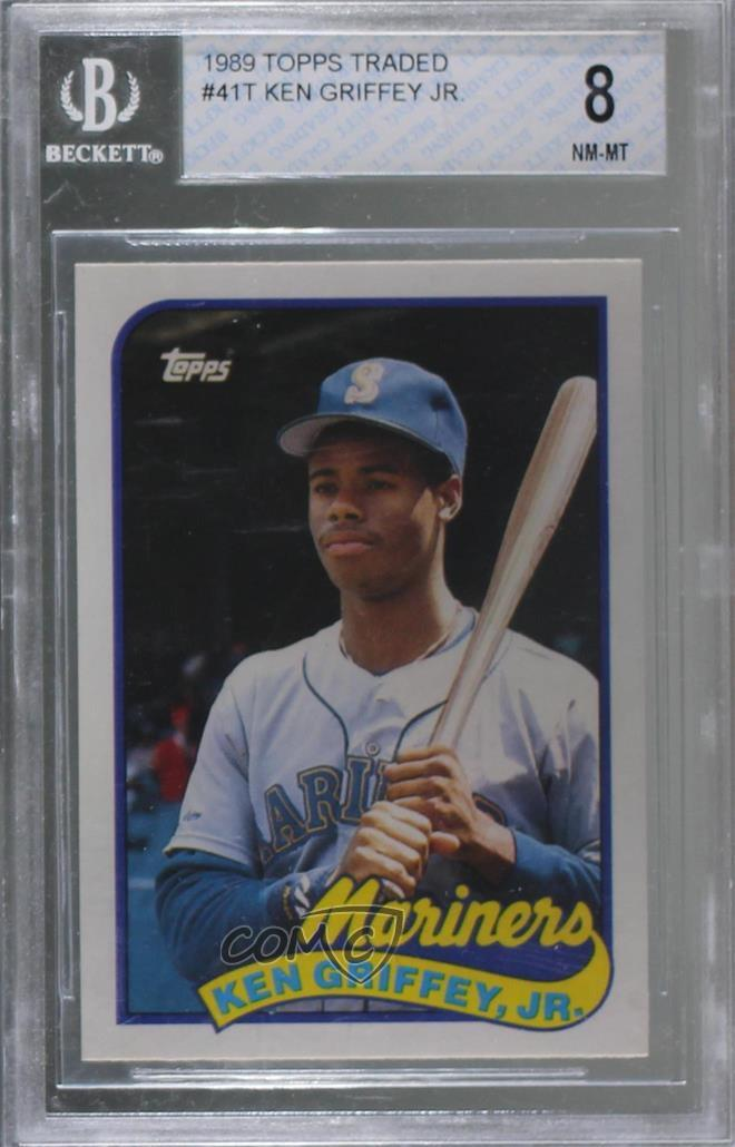 49e0c83144 1989 Topps Traded - Box Set [Base] #41T Ken Griffey Jr. Representative  Image - Select Specific Item above to see image of actual item