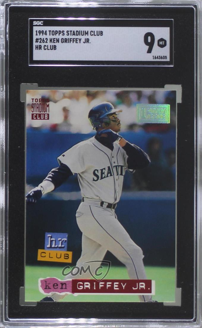 4e09fc3df9 1994 Topps Stadium Club - [Base] - 1st Day Issue #262 Ken Griffey Jr.  Representative Image - Select Specific Item above to see image of actual  item