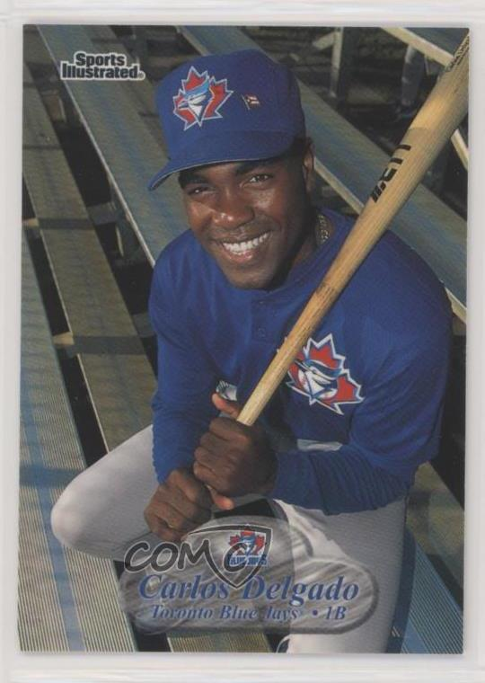 Details About 1998 Fleer Sports Illustrated 29 Carlos Delgado Toronto Blue Jays Baseball Card