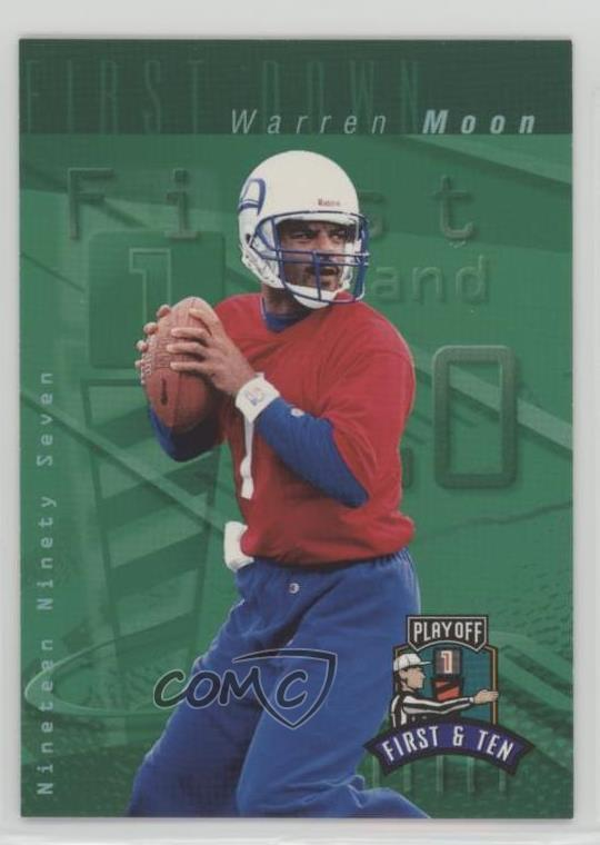 5beb834b4 #148 Warren Moon. Representative Image - Select Specific Item above to see  image of actual item