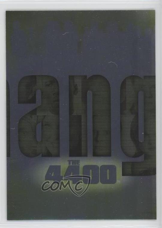 2006 Inkworks The 4400 Series 1 Changed Puzzle #C-5 Non-Sports Card 0w6 |  eBay