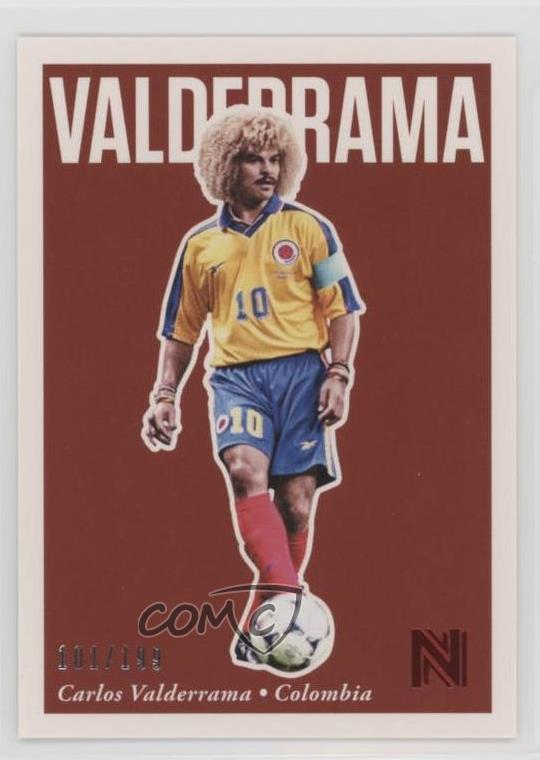 a24e7f014e1 #30 Carlos Valderrama. Representative Image - Select Specific Item above to  see image of actual item