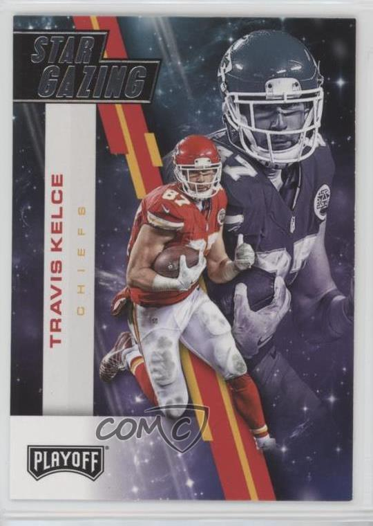 48dc13ef Details about 2017 Panini Playoff Star Gazing #18 Travis Kelce Kansas City  Chiefs Card