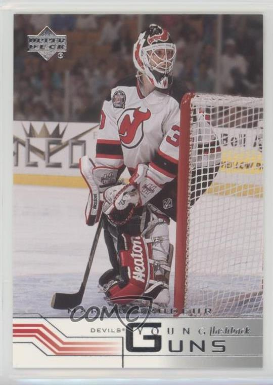 b2c78cee7  221 Martin Brodeur. Representative Image - Select Specific Item above to  see image of actual item