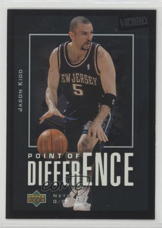 62265c86773f 2003-04 Upper Deck Victory -  Base   199 Jason Kidd. Representative Image -  Select Specific Item above to see image of actual item. Front