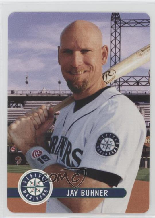 Details About 2001 Keebler Seattle Mariners Stadium Giveaway 6 Jay Buhner Baseball Card