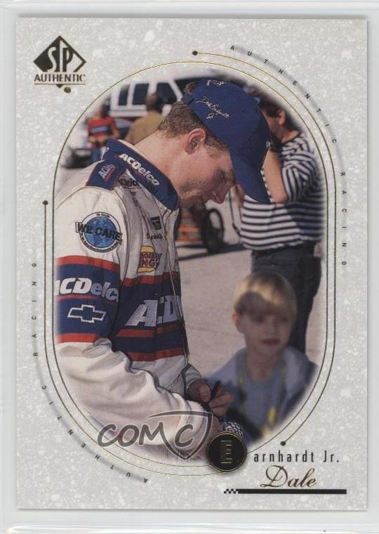1999 SP Authentic #30 Dale Earnhardt Jr Rookie Racing Card