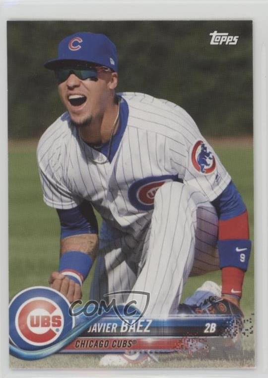 Details About 2018 Topps New Era 8 Javier Baez Chicago Cubs Baseball Card