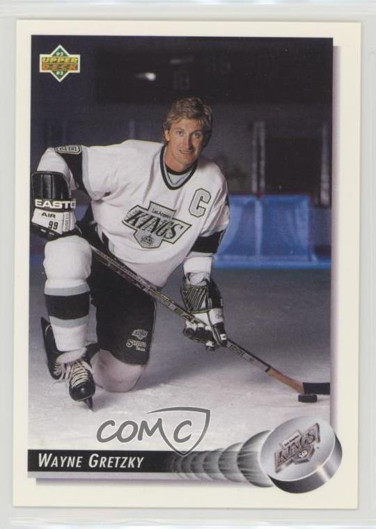 newest 97813 b8b52 Details about 1992-93 Upper Deck #25 Wayne Gretzky Los Angeles Kings Hockey  Card