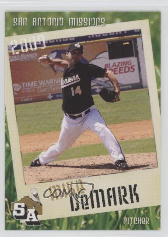 Details About 2009 Grandstand San Antonio Missions Mide Mike Demark Rookie Baseball Card