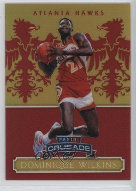 Verzamelingen 2014-15 Panini Excalibur Crusade Camouflage #139 Dominique Wilkins Atlanta Hawks Basketbal