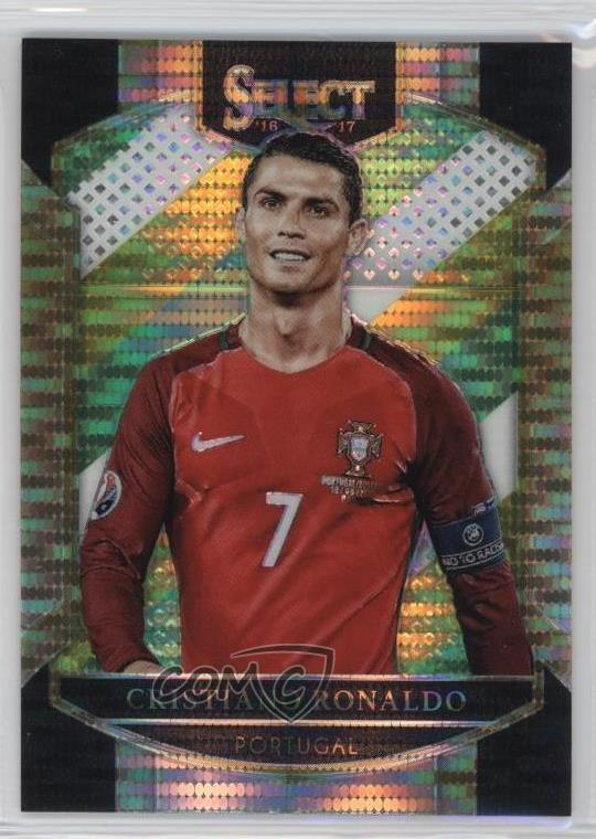 Voetbal Verzamelingen 2016 2016-17 Panini Select #1 Terrace Cristiano Ronaldo Portugal RC Soccer Card