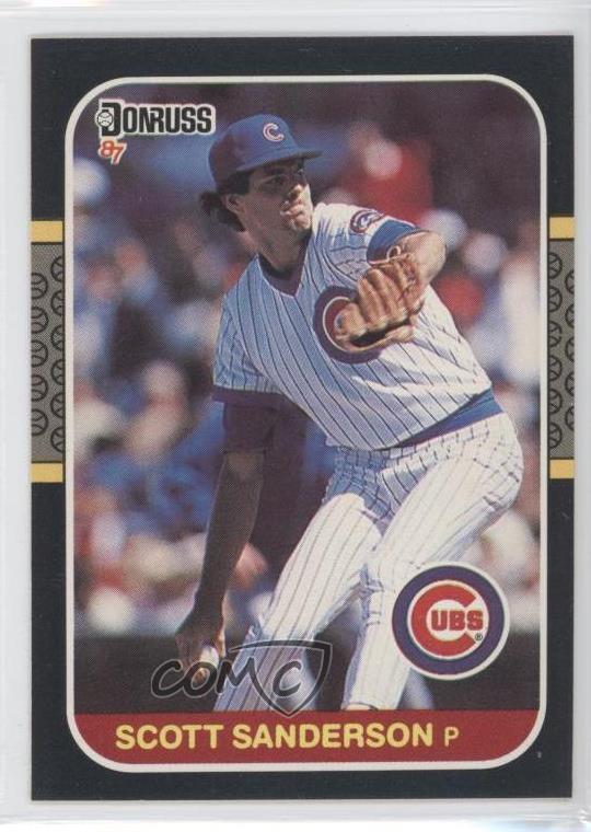 Details About 1987 Donruss 447 Scott Sanderson Chicago Cubs Baseball Card