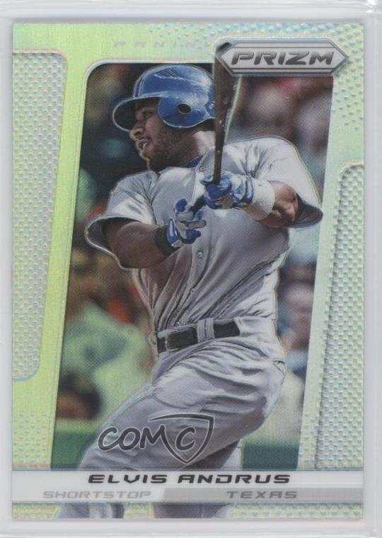 Details About 2013 Panini Prizm Prizms 76 Elvis Andrus Texas Rangers Baseball Card