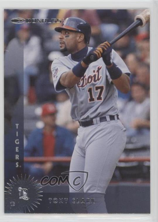 Details About 1997 Donruss 341 Tony Clark Detroit Tigers Baseball Card