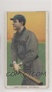 1909-11 T206 - [Base] - Piedmont 150 Back #EDAB - Ed Abbaticchio [Altered]
