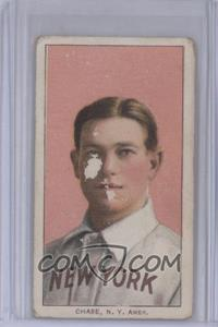 1909-11 T206 - [Base] - Piedmont 150 Back #HACH.1 - Hal Chase (Portrait, Pink Background) [PoortoFair]