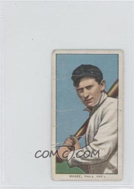 1909-11 T206 - [Base] - Piedmont 350-460 Factory No. 25 Back #SHMA - Sherry Magee