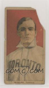 1909-11 T206 - [Base] - Piedmont 350 Back #DIRU - Dick Rudolph [Poor]