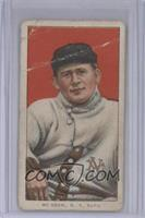 John McGraw (NY Sweater; Red Background) [Poor to Fair]