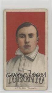 1909-11 T206 - [Base] - Sweet Caporal 350 Factory No. 30 Back #FRMI - Fred Mitchell [GoodtoVG‑EX]