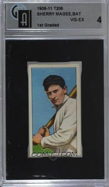 1909-11 T206 - [Base] - Sweet Caporal 350 Factory No. 30 Back #SHMA - Sherry Magee [GAI 4]