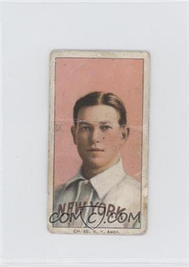 1909-11 T206 - [Base] - Sweet Caporal Unknown Factory Back #HACH - Hal Chase (portrait, pink background) [Poor]