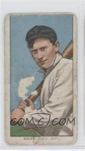 1909-11 T206 - [Base] - Sweet Caporal Unknown Factory Back #SHMA - Sherry Magee [Poor to Fair]