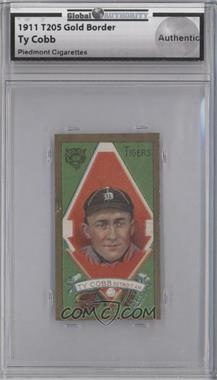 1911 T205 - [Base] - Piedmont Factory 25 Back #TYCO - Ty Cobb [GAI AUTHENTIC]