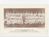 New York Giants, Pennant Winners, 1923 [Poor to Fair]