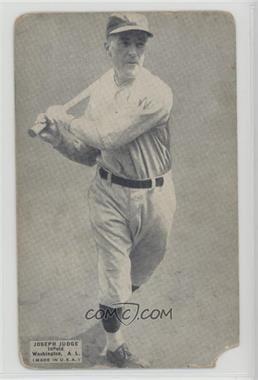 1925 Exhibits White Text Box - [Base] #JOJU - Joe Judge [Poor]