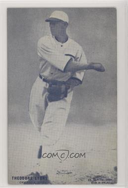 1926-29 Exhibits - [Base] #TELY - Ted Lyons [Good to VG‑EX]