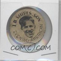 1930 Chicago Evening American Cubs and White Sox Pins - [Base] #N/A - Art Shires
