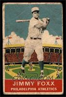 Jimmie Foxx Baseball Cards From The 1930s