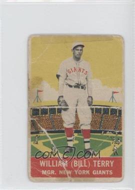 1933 DeLong - R333 #4 - Bill Terry