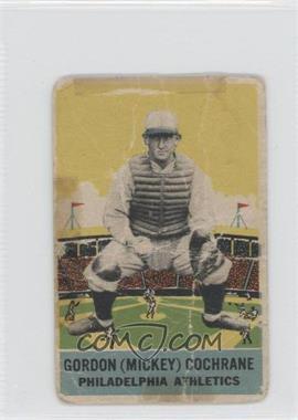 1933 DeLong - R333 #6 - Mickey Cochrane [Poor]