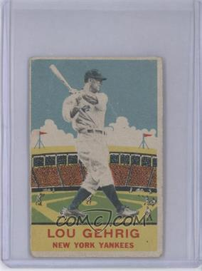 1933 DeLong - R333 #7 - Lou Gehrig [Good to VG‑EX]