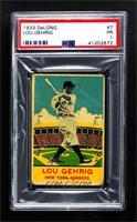 Lou Gehrig [PSA1PR]