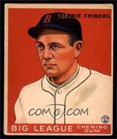 Bernie Friberg All Baseball Cards Matching Baseball 1933